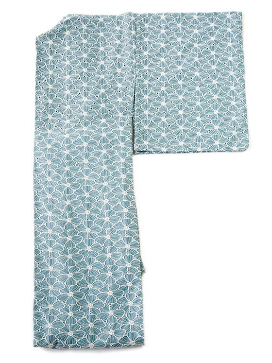 フェミニンレースの木綿着物「ハナミズキ」