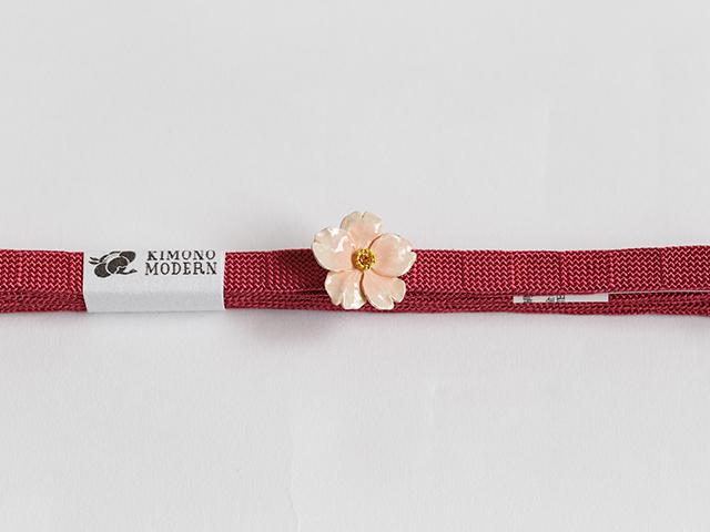 帯留め「馴染み桜」